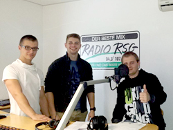 Radio RSG Backstage